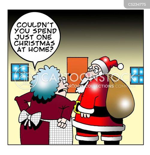 home for christmas cartoon