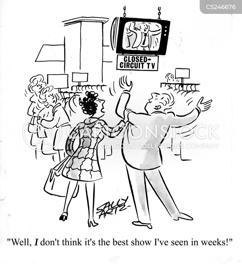 closed-circuit television cartoon