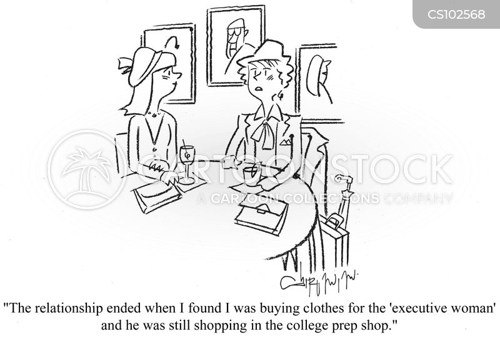 college prep shop cartoon