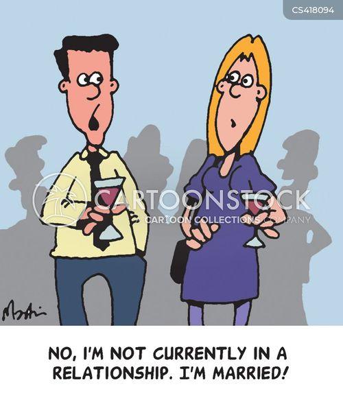 relationship status cartoon