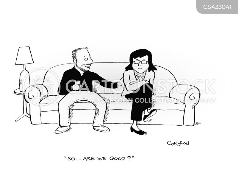 marital arguments cartoon