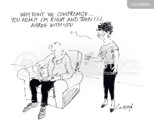 compromised cartoon
