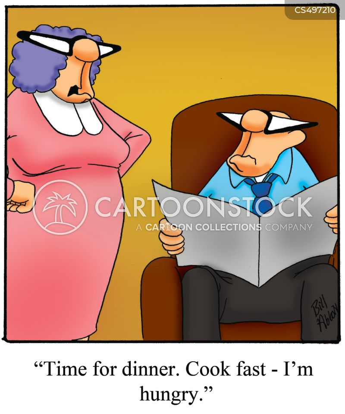 homecook cartoon
