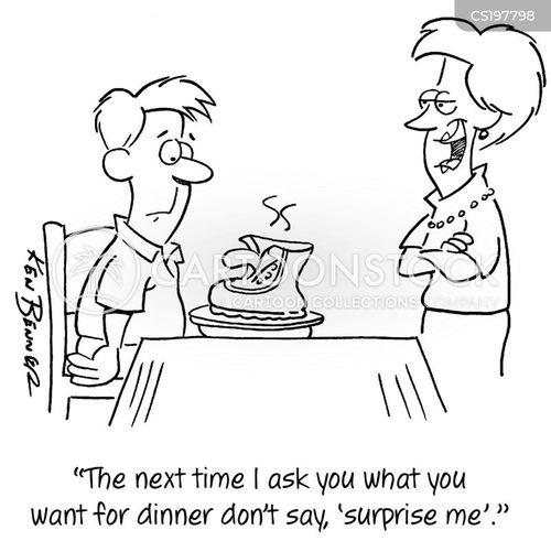 cooking skill cartoon