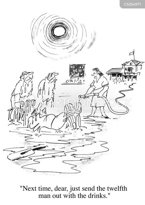 hose down cartoon