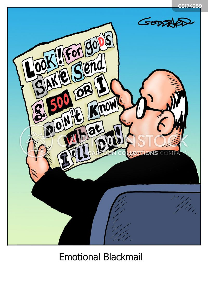 blackmailer cartoon