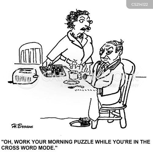 crossness cartoon