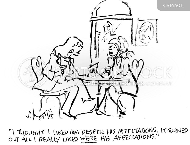 affectations cartoon