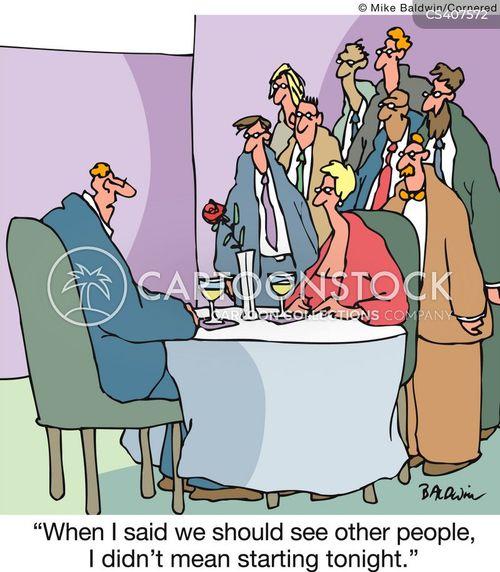 meeting new people cartoon