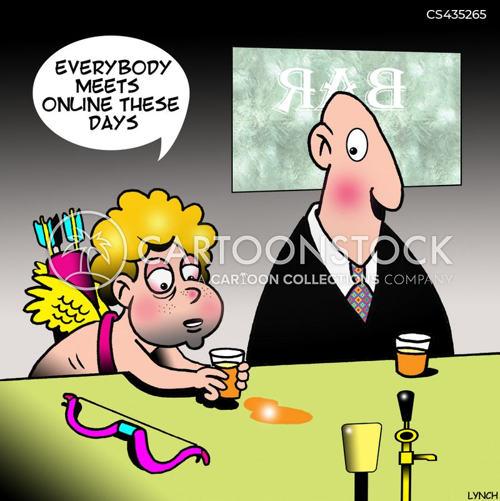 modern romance cartoon