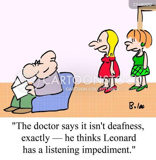 impediments cartoon