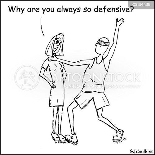defended cartoon