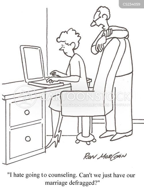 defrag cartoon
