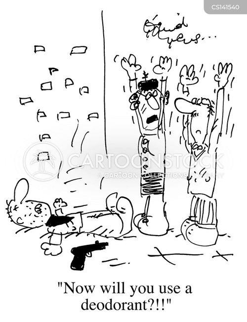 underarm cartoon