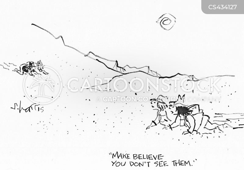 hallucinates cartoon
