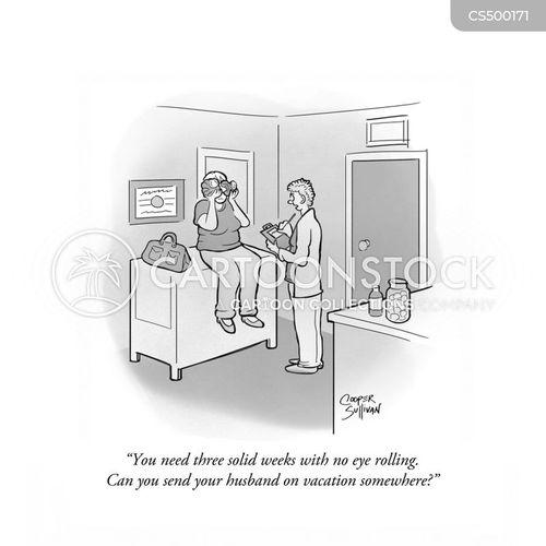 eye-doctor cartoon