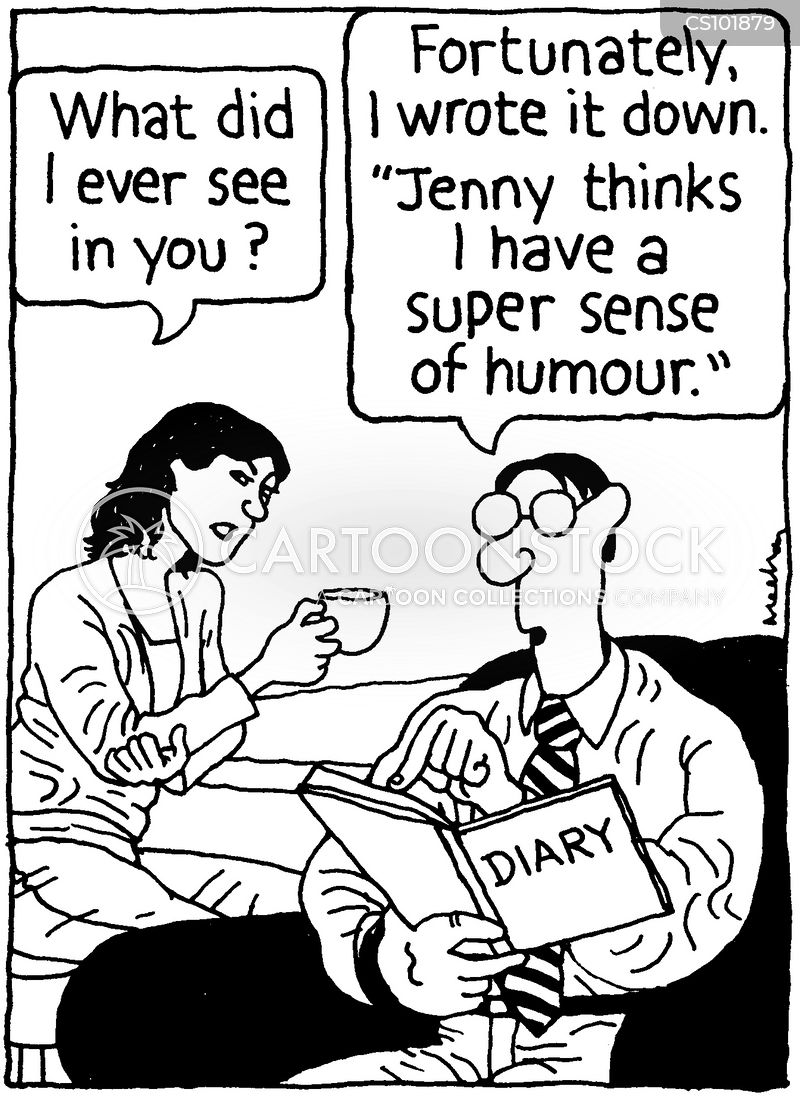 good sense of humour cartoon