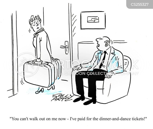 Wife Leaving cartoons, Wife Leaving cartoon, funny, Wife Leaving ...