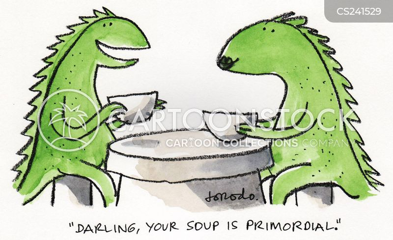 primordial cartoon