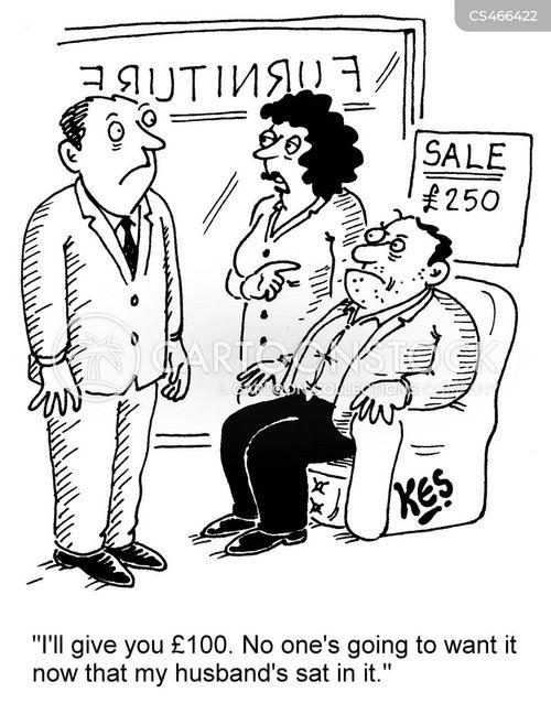 hagglers cartoon
