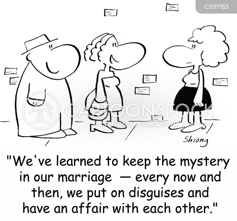 successful marriages cartoon