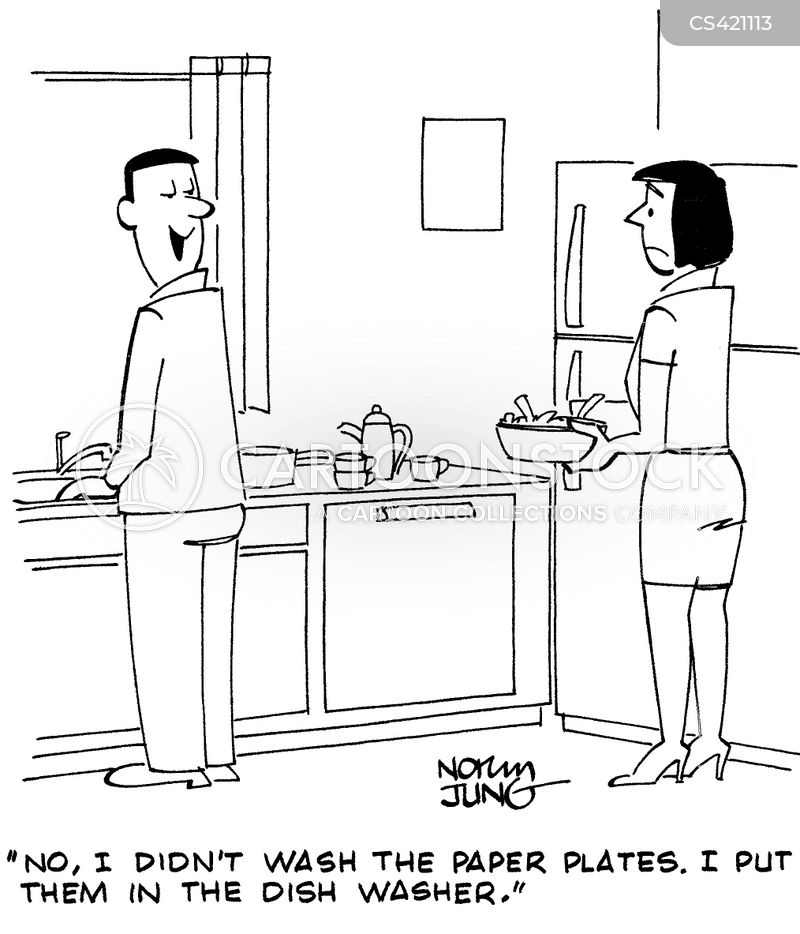 domestic skill cartoon