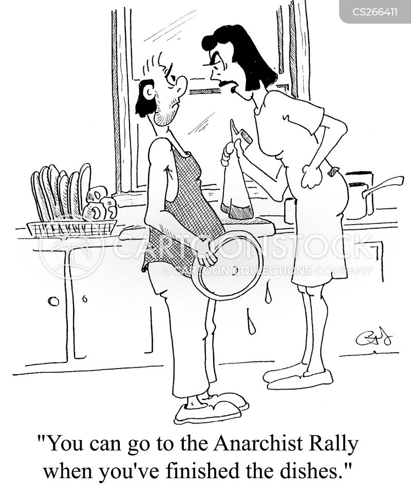anarchism cartoon