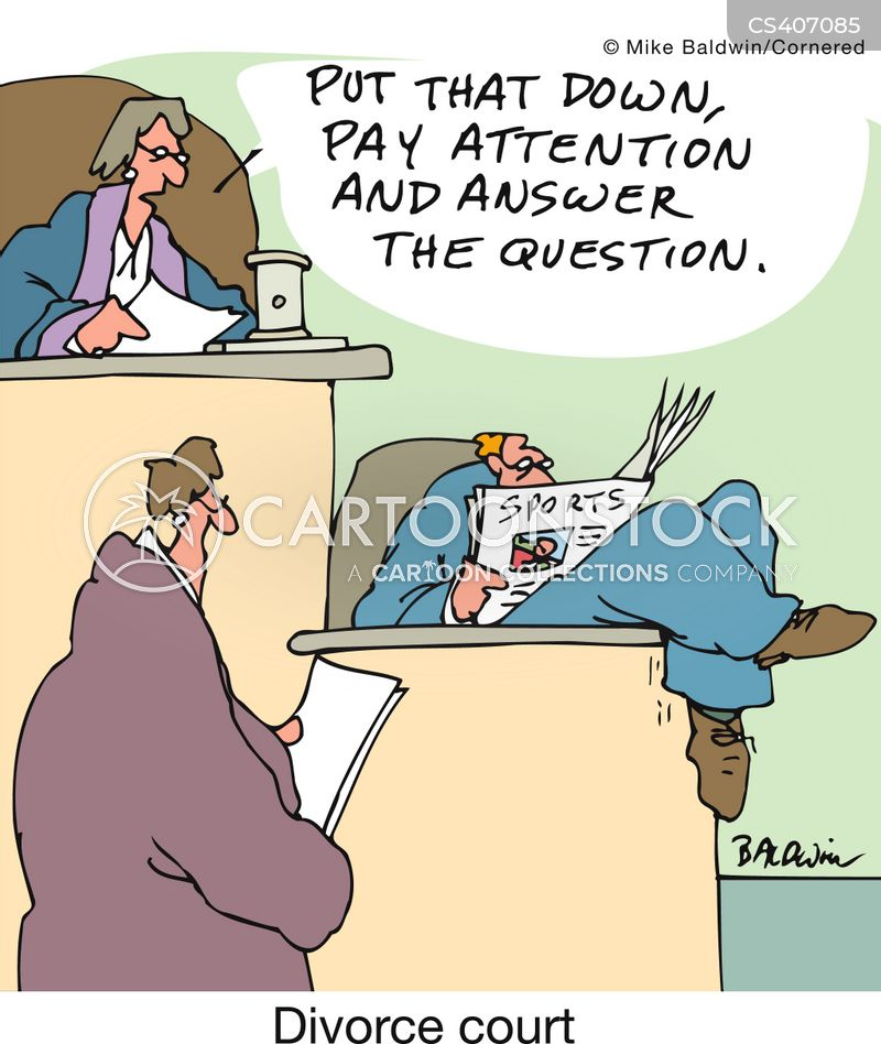 family court cartoon