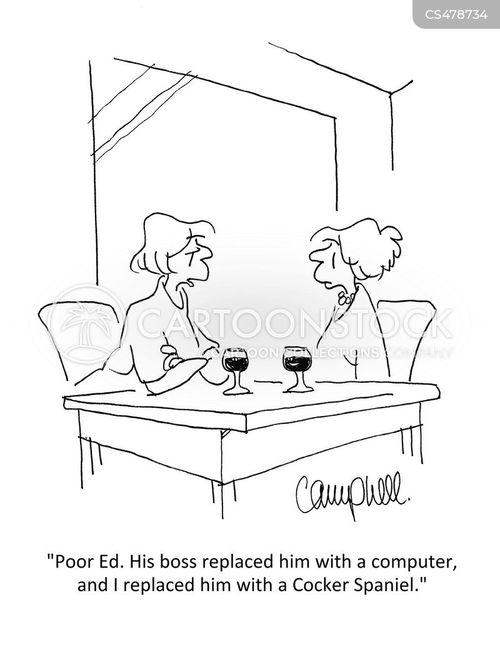 cocker spaniels cartoon