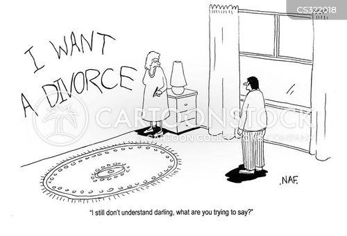 stupid husbands cartoon