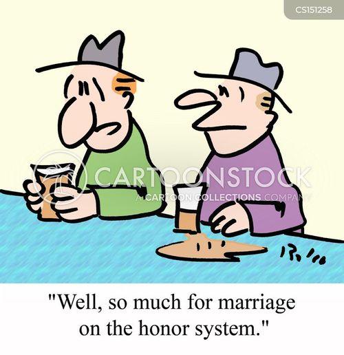 honor system cartoon