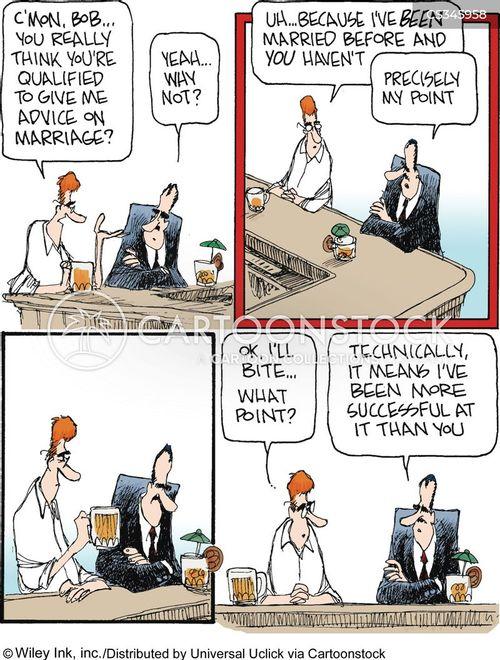 remarriage cartoon