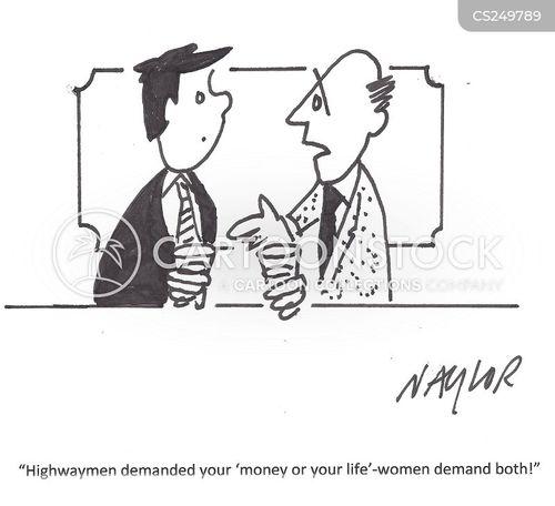 highwaymen cartoon