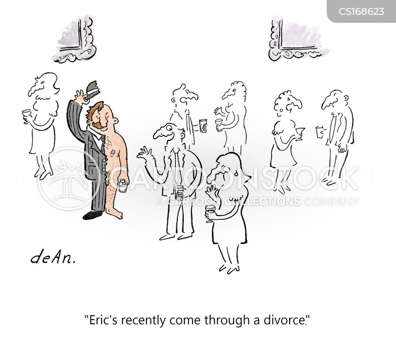 marital breakdowns cartoon