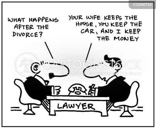 legal expenses cartoon