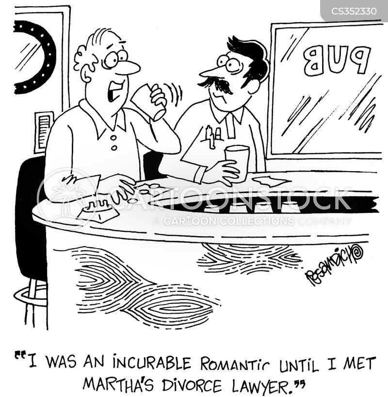 incurable romantic cartoon