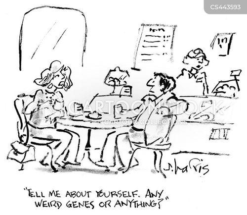 genetic diseases cartoon