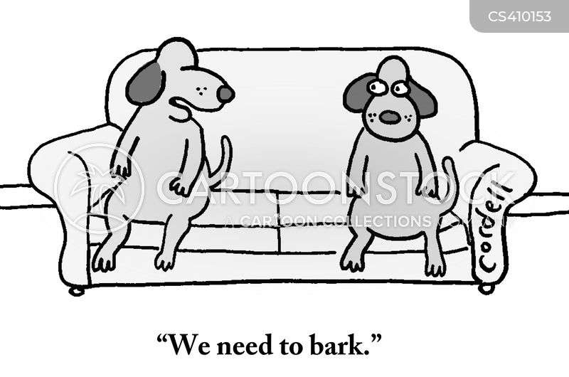 barker cartoon