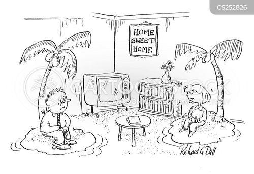 sitting room cartoon