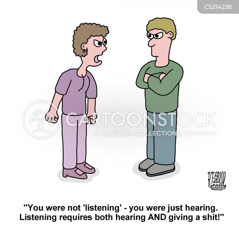 listened cartoon