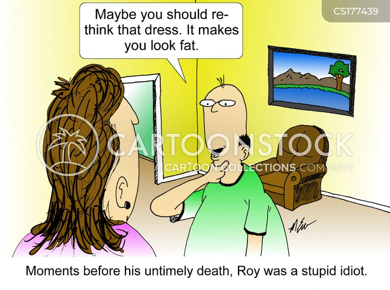 fat shame cartoon