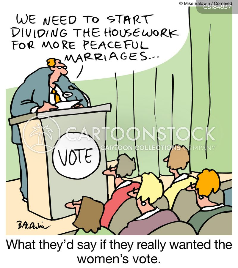 getting divorced cartoon