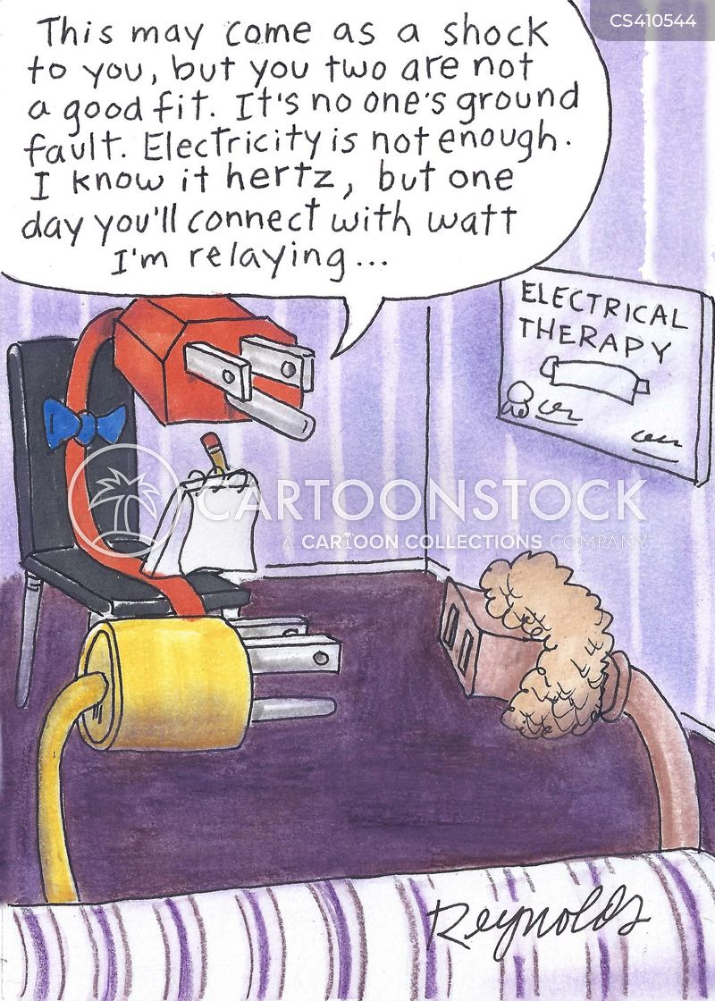 Electrical Plug Cartoons and Comics - funny pictures from CartoonStock