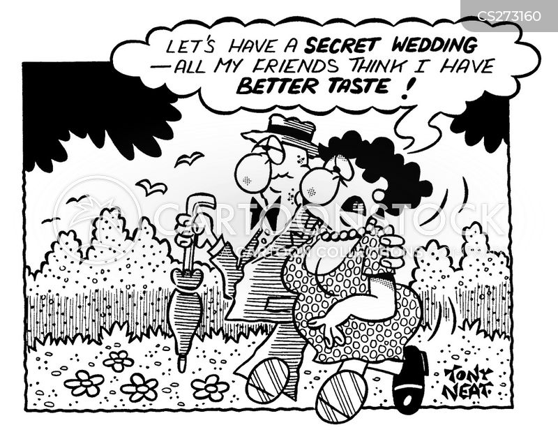 elopements cartoon