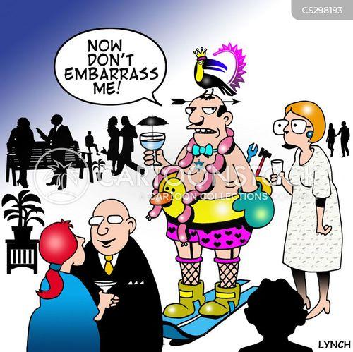 bad dress sense cartoon