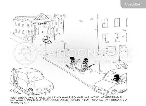 getaway car cartoon