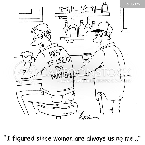 users cartoon