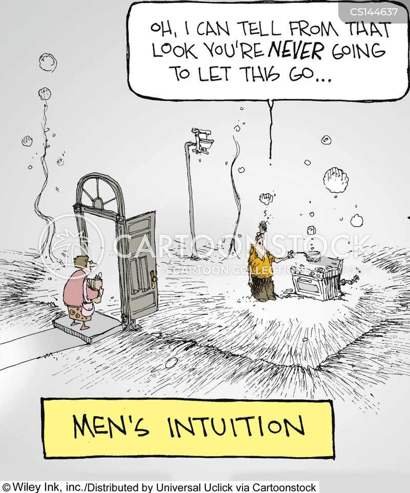 intuition cartoon