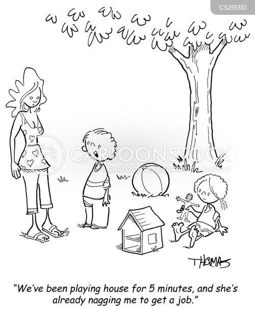 boy meets girl cartoon