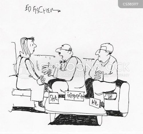 family dynamics cartoon